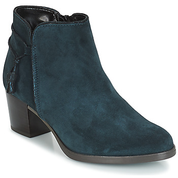 Shoes Women Ankle boots André MISTINGUETTE Blue