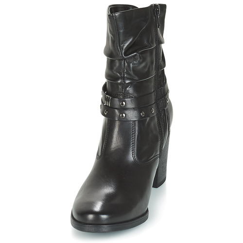André TOCSIN Black - Free delivery Shoes Mid boots Women £ 97.00 qiJdzlW5