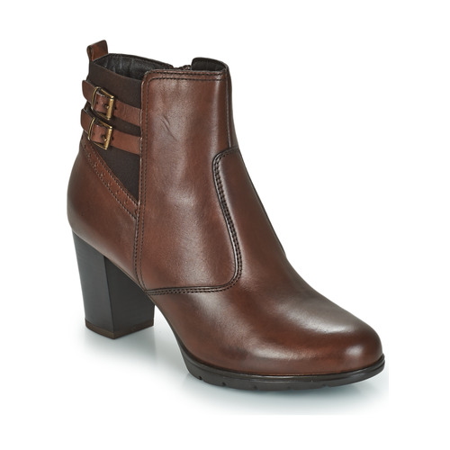 Shoes Women Mid boots André CARACAL Brown