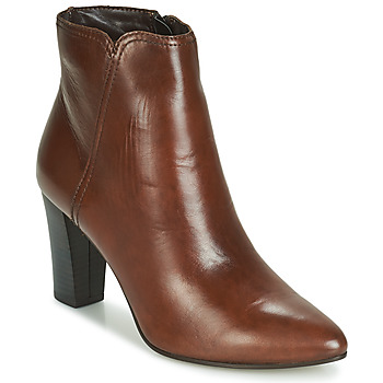 Shoes Women Mid boots André FAST Brown