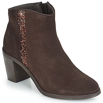 Shoes Women Ankle boots André TERRA Brown