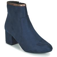 Shoes Women Mid boots André FALOU Blue