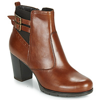 Shoes Women Ankle boots André CARACAL Brown