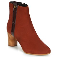 Shoes Women Ankle boots André FILO Red