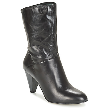 Shoes Women High boots André FEVER Black