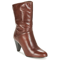 Shoes Women High boots André FEVER Brown