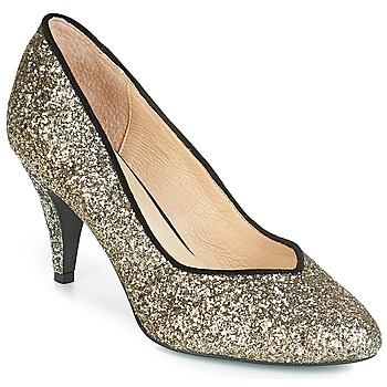 Shoes Women Heels André ANGELIE Gold