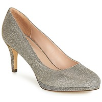 Shoes Women Heels André CRYSTAL Silver