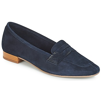 Shoes Women Loafers André NAMOURS Marine