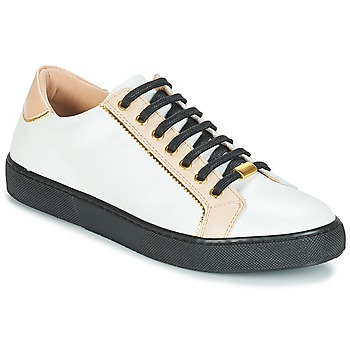 Shoes Women Low top trainers André BERKELITA White