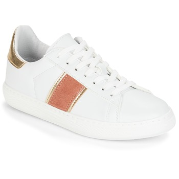 Shoes Women Low top trainers André FRISBEE White