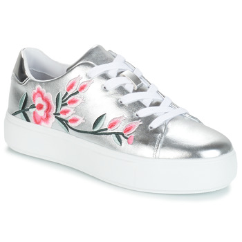 Shoes Women Low top trainers André ALGINA Silver