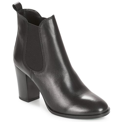 Shoes Women Mid boots André CLAFOUTI Black