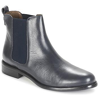 Shoes Women Mid boots André CARAMEL Blue