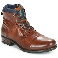 Shoes Men Mid boots André SACLAY Brown