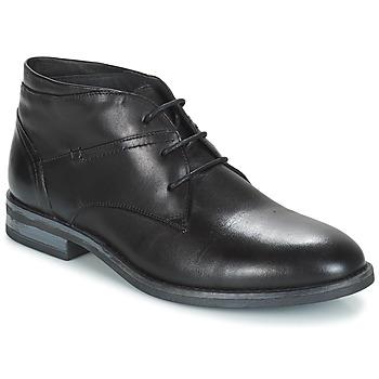 Shoes Men Mid boots André PRATO Black