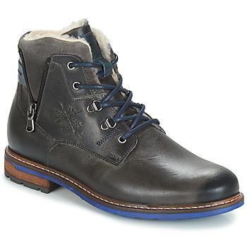 Shoes Men Mid boots André GUINEE Black