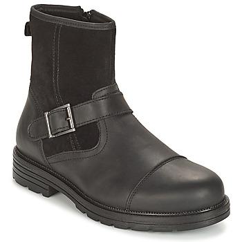 Shoes Men Mid boots André CAVALIER Black