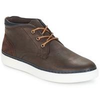 Shoes Men Hi top trainers André PAPIER Brown