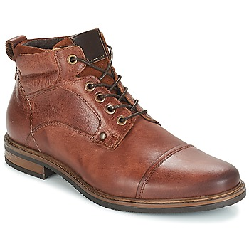 Shoes Men Mid boots André VERON Brown