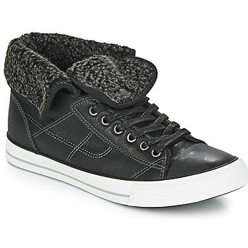 Shoes Men Hi top trainers André CONDOR Black
