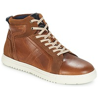 Shoes Men Hi top trainers André RANDONNEUR Brown