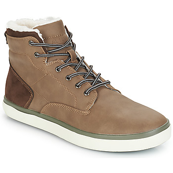 Shoes Men Hi top trainers André INUIT Brown