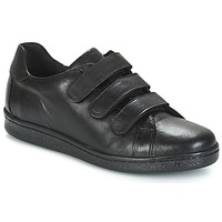 Shoes Men Low top trainers André AVENUE Black