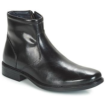 Shoes Men Mid boots André BOULE Black