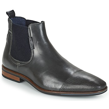 Shoes Men Mid boots André PLEO Grey