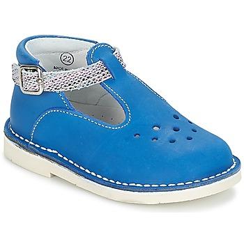 Shoes Girl Flat shoes André LE SABLIER Blue
