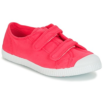 Shoes Girl Low top trainers André LITTLE SAND Pink