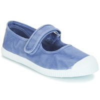 Shoes Girl Flat shoes André LA BLEUETTE Blue