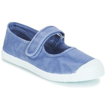 Shoes Girl Flat shoes André LA BLEUETTE Blue