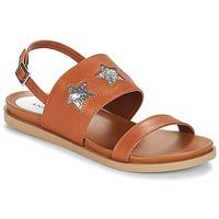 Shoes Women Sandals André TAIGA Camel