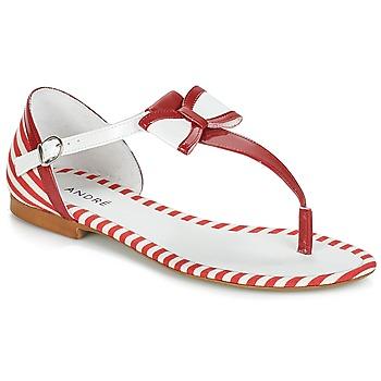 Shoes Women Sandals André DORINE Red