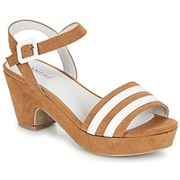 Shoes Women Sandals André DITA Cognac