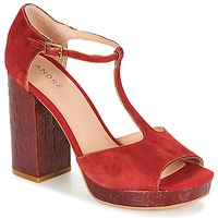 Shoes Women Sandals André TORRIDE Red