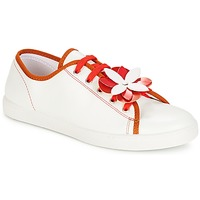 Shoes Women Low top trainers André GUIMAUVE Red