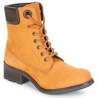 Shoes Women Mid boots André MEIJE Camel