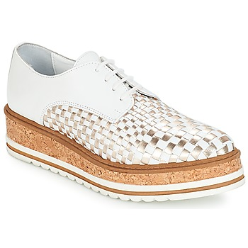 Shoes Women Derby Shoes André CHATAIGNE White