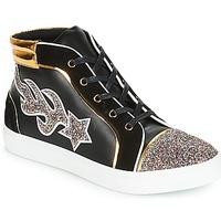 Shoes Women Hi top trainers André LOTUS Black