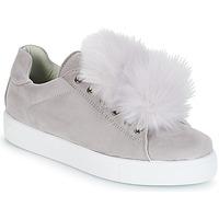 Shoes Women Low top trainers André POMPON Grey