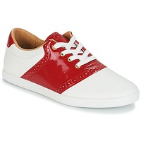 Shoes Women Low top trainers André LIZZIE Red