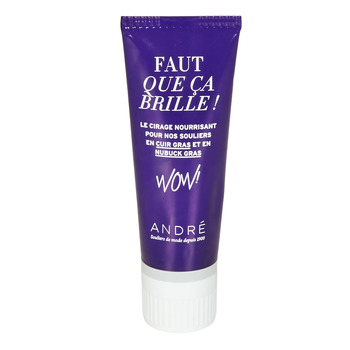Shoe accessories Care Products André TUBE CUIR GRAS Neutral