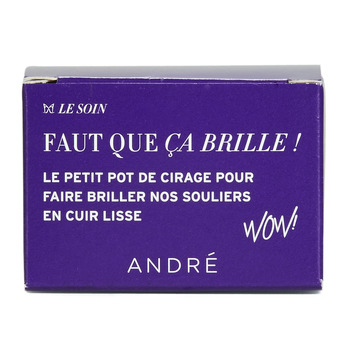 Shoe accessories Shoepolish André POMMADIER Beige