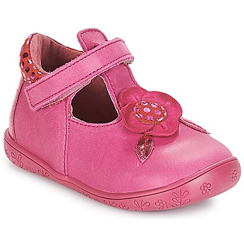 Shoes Girl Flat shoes André FLORE Fuschia