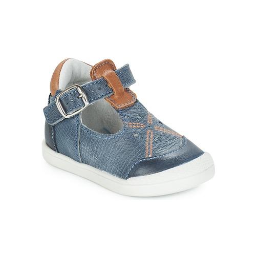 Shoes Girl Flat shoes André POCHOIR Blue