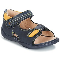 Shoes Boy Sandals André VOYAGE Marine