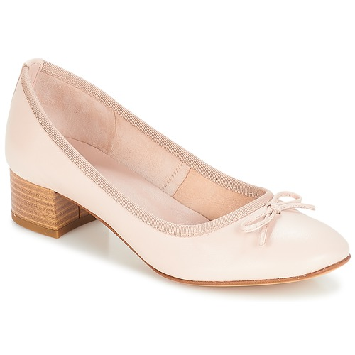 Shoes Women Flat shoes André POETESSE Beige